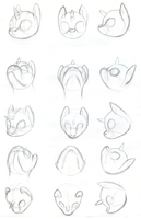 Ponyderp Head Angles by Hissdragon