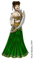 Houri The Warrioress by CrystallineColey