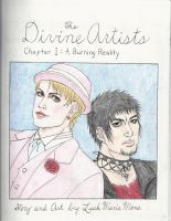 The Divine Artists: Chapter 1 Title Page by SaiyukiMarie39