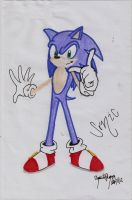 Sonic The Hedgehog by XxLuvDarkMusicxX