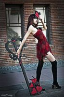 Kairi's Keyblade II by Leonvanguard