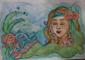 Water colour 1311 by Tinnu