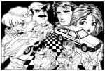 Speed Racer Initial D by Dogsupreme