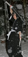 rukia in the snow by surlycat