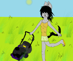 Mow like a pro by Miss-Zydrate