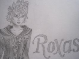 Roxas (Close up) by WeissLupus