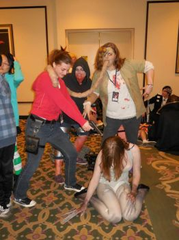 Left 4 Dead - cosplay Group by Twiganut