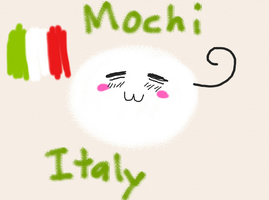 IPad Drawings: Mochi Italy by goodlucklight