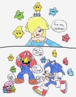 If Rosalina Was In Brawl by marioandsonic-14
