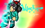 Wreck-It Ralph: Vanellope the Glitch by SilverSkittlez
