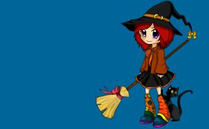 Witch wallPaper by linkaevergreen