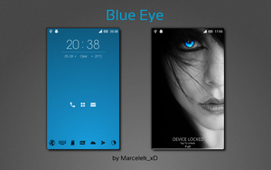 Blue Eye by MarcelekxD