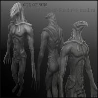 God of the sun by Jack---Shadow