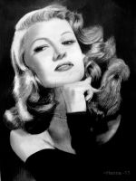Rita Hayworth by ParadizeLily