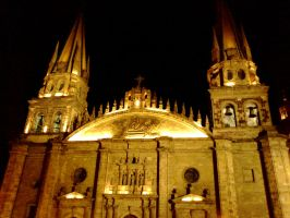 Guadalajara at Night 3 by Foxdale