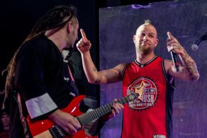Ivan Moody and Zoltan  Bathory Five Finger Death P by JaredWingate