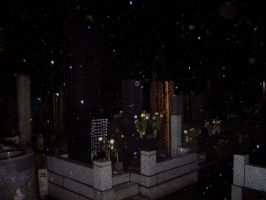 Haunted Japanese Cemetary 2 by Frankencow