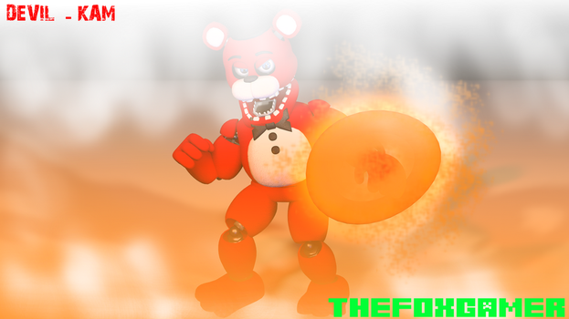 |Commision|Devil-Kam| by TheFoxGamerOfficial2