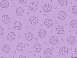 Cupcake wallpaper (Purple) by sosogirl123