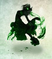Lady of Green Ink by DarkoDesign