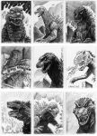 G-Fest Sketch Cards 2013 by VectorAttila