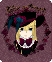 :Trick or Treat:Lilith: by SymphoBunny
