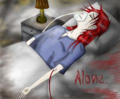 Alone by DiabolicLily