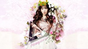 Kim Taeyeon 2014 Wallpaper by Jover-Design
