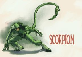scorpion by MonkeySeed