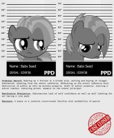 My little Criminal Records: Babs Seed by dan232323