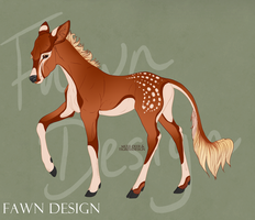 Copper (Kindle x hephaistos fawn) twin #1 by halloweendonkey