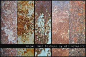 - metal rust textures by totallyzer0