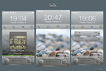 MIUI Lockscreen: Silk by jpool81