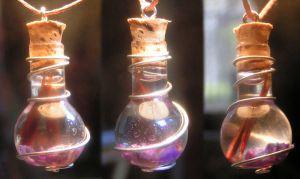 Magic Vial - Light from Dark by Izile