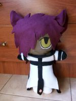 Gil plushie - kitty version by VioletLunchell