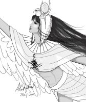 Isis - for Hawksky by mytiko-chan-is-back
