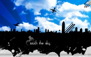 touch the sky... by AcidR4in
