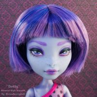 Dotty the Sea Monster - Monster High Repaint by PixiePaints
