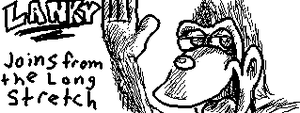 MiiVerse Lanky Kong for SSB 3DS and Wii U by SpongicX