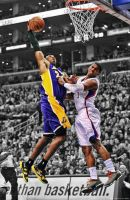 Kobe Bryant Dunk on Chris Paul by rhurst