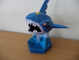 sharpedo paercraft by dodoman75