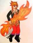 Flaming Loki by Iglybo