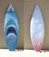 Customisable Surfboard Papercraft by Sinner-PWA