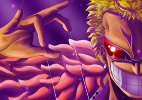Doflamingo, the man who pulls the strings by 321comics