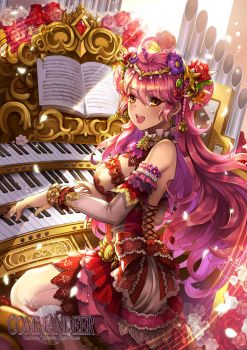 The Pianist of Avalon by kaskianioh