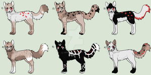OPEN | Cat Adoptables | Price Lowered by lit-nebulosa