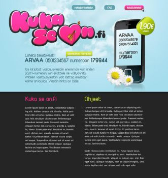 KukaSeOn.fi by ass-itch