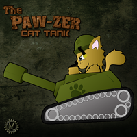 PAW-ZER Cat Tank by Mehdals