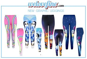 Adventure Time + Bravest Warriors **LEGGINGS!** by lollivamp