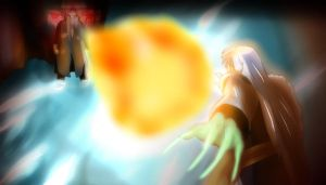 Itachi vs Sesshomaru by Mr123GOKU123